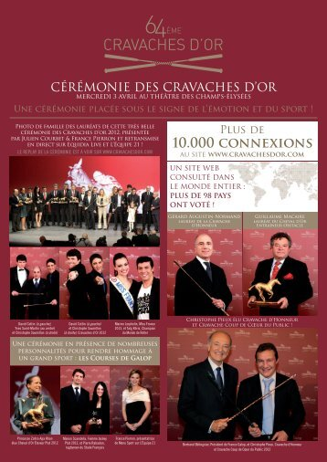 10.000 connexions - France Galop