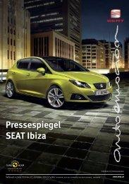 Pressespiegel SEAT Ibiza