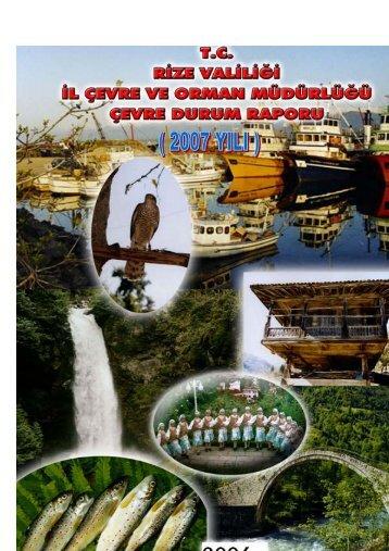 rizeicd2007.pdf 6563KB May 03 2011 12:00:00 AM - İl Çevre Durum ...