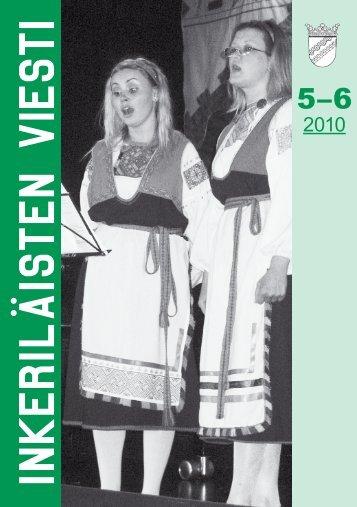 5-6/2010 - Suomen Inkeri-liitto ry