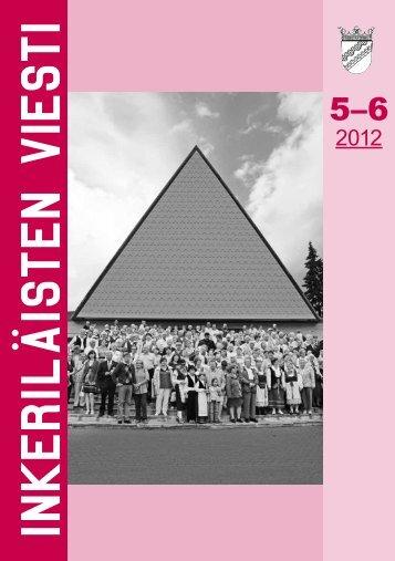 5-6/2012 - Suomen Inkeri-liitto ry