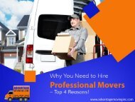 Professional Residential Movers in Bel Air, MD – Why To Hire!