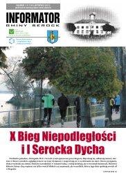 listopad 2012 - Urząd Miasta i Gminy w Serocku