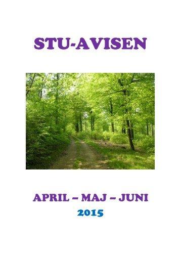 STU-AVISEN - april, maj, juni