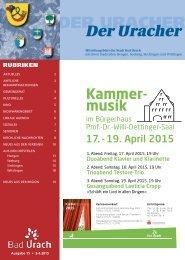 Der Uracher KW 15-2015