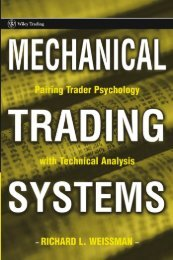 Mechanical Trading Systems - stocksight