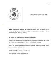 Adviesaanvraag betreffende het ontwerp van koninklijk besluit tot ...