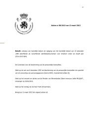Betreft: ontwerp van koninklijk besluit tot wijziging van het koninklijk ...