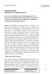 Presse-Information prisma informatik