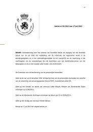 Adviesaanvraag over het ontwerp van Koninklijk besluit tot wijziging ...