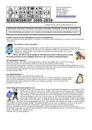Nieuwsbrief 12 27 mei jaargang 3 - Goeman Borgesiusschool