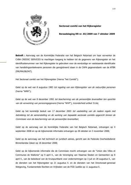 federatie belgische notarissen