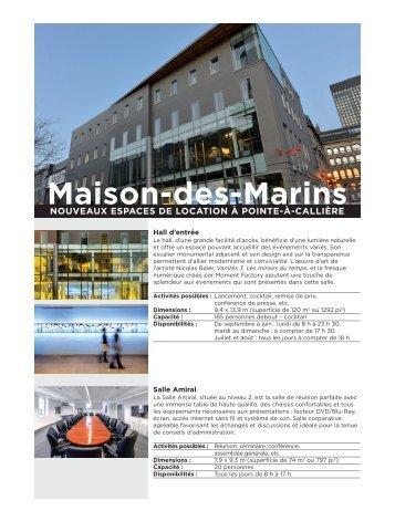 Maison-des-Marins - Pointe-à-Callière