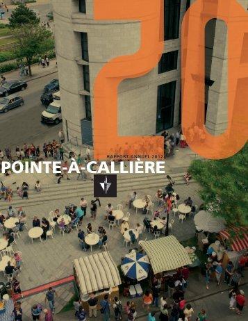 Rapport annuel 2012 - Pointe-à-Callière