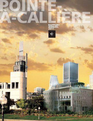 RappoRt annuel 2011 - Pointe-à-Callière