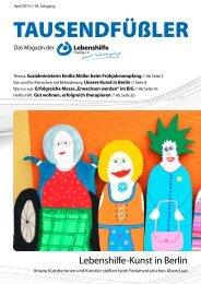 2015 APRIL / LEBENSHILFE FREISING / TAUSENDFÜSSLER-MAGAZIN