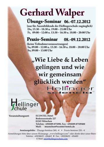 """""""Wie Liebe & Leben gelingen und wie wir ... - Hellinger.com"""
