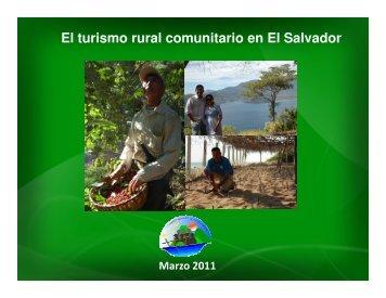 El turismo rural comunitario en El Salvador - Prisma