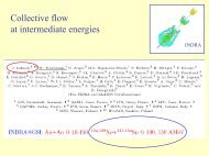 Collective flow in heavy ion collisions at intermediate energies