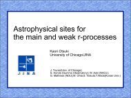 Astrophysical sites for the main and weak r-processes