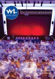 CASE STUDY Greenford Hall Installation - White Light