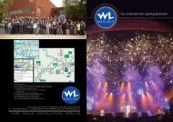 Your Entertainment Lighting Specialist - White Light