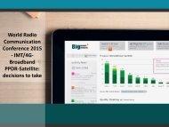 World Radio communication Conference Market 2015