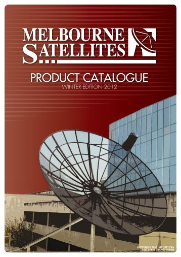 MELBOURNE SATELLITES CATALOGUE Winter August 2012 A4 ...