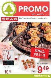 Spar folder 9 t/m 22 april 2015