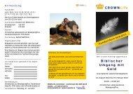 Kurs-Flyer - CROWN Life Schweiz