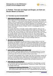 2 - In 7 Schritten aus der Schuldenfalle - CROWN Life Schweiz