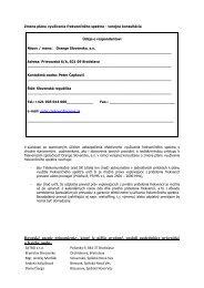 Predložené pripomienky - Telekomunikačný úrad SR