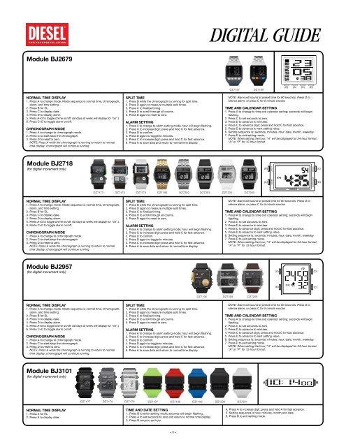 Review: men's white plastic resin digital dial diesel dz7168.