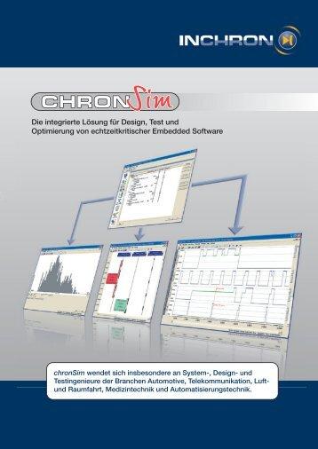 Die integrierte Lösung für Design, Test und Optimierung ... - INCHRON