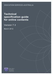 Technical specification guide for online contents - National Digital ...