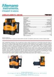 LIVELLO LASER FL-300-A - Instrumetrix