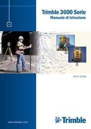Trimble 3600 Serie Manuale di Istruzione - Instrumetrix