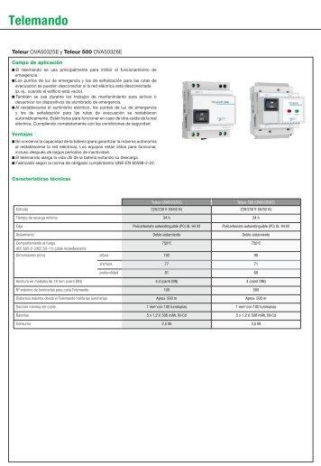 Guía rápida LITESTAR PRO 10 (PDF 0.4 Mb)