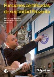 Funciones certificadas de seguridad Preventa - Schneider Electric