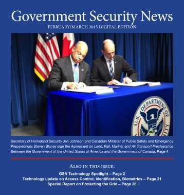 Government Security News