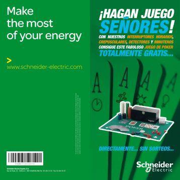 hagan juego, señores! - Schneider Electric
