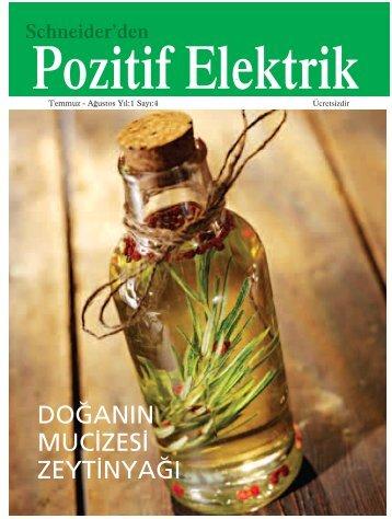 Schneider Electric'den Pozitif Elektrik - Temmuz - Ağustos 2007