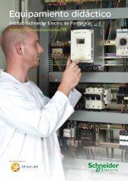 Descargar catálogo de equipos didácticos - Schneider Electric