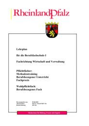 Wirtschaft und Verwaltung