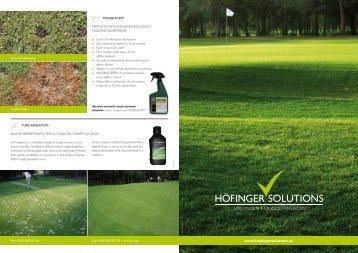 Servizi per campi da golf e impianti sportivi - Höfinger Solutions