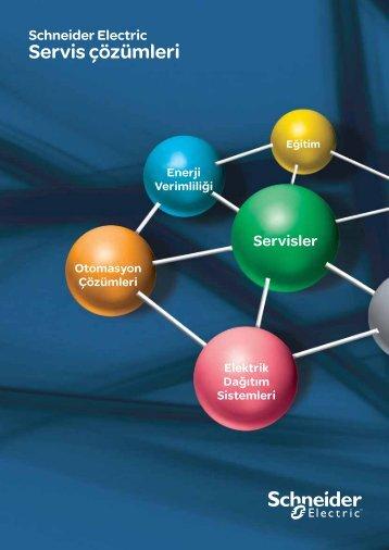 Servis Çözümleri Kataloğu (pdf, 478,91 kb) - Schneider Electric