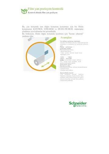 Film kenar kontrolü - Schneider Electric
