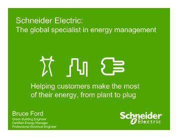 Smart Grid & Energy Management - Schneider Electric