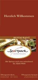 Restaurant am Sportpark