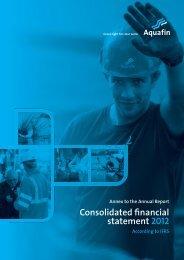 IFRS - Aquafin
